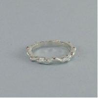 LAVA RING Silver